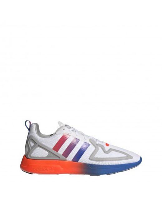 ZX 2K Flux Sneakers Adidas pour homme en coloris White