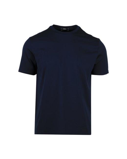 Herno T-shirt in het Blue voor heren