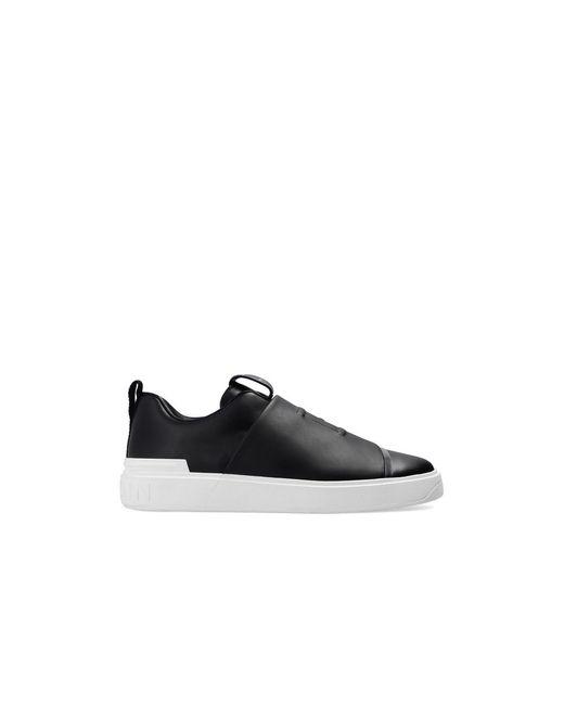 Balmain Branded Sneakers in het Black voor heren