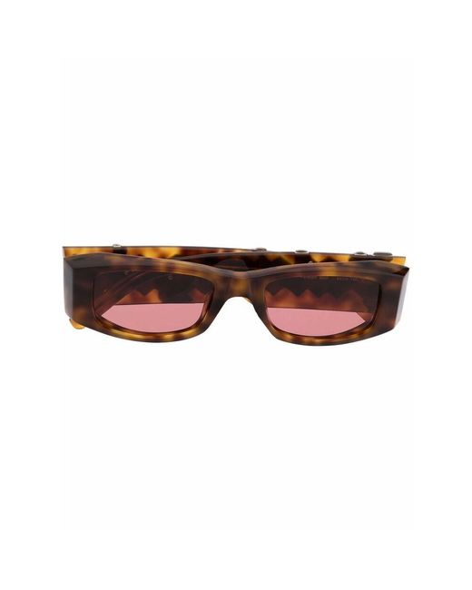 Palm Angels Brown Sunglasses