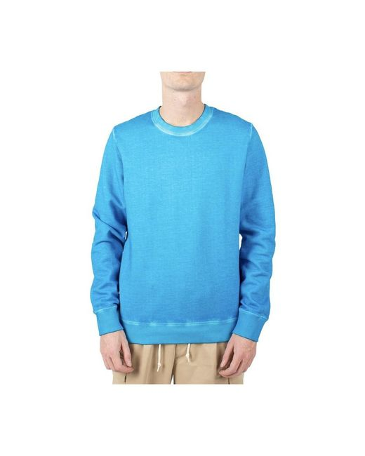 Roberto Collina Sweater in het Blue voor heren