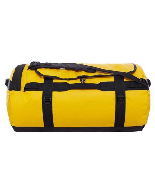 The North Face Basecamp-duffel Reistas L in het Yellow