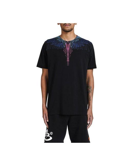 Camiseta di Marcelo Burlon in Black da Uomo