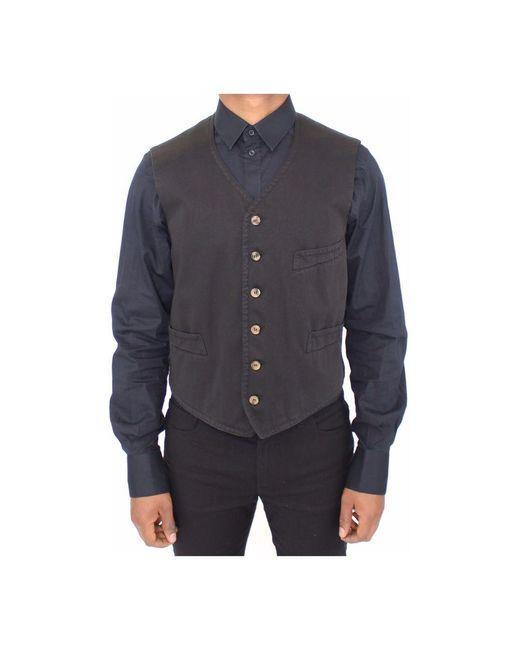 Veste di Dolce & Gabbana in Black da Uomo