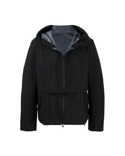 Y-3 Hooded Jacket in het Black voor heren