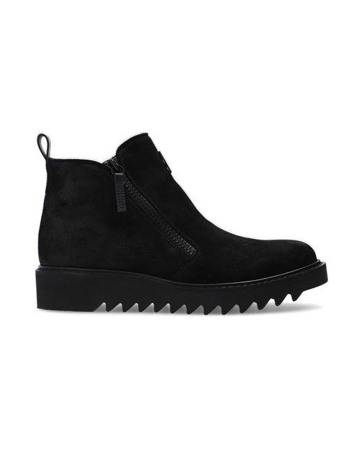 Giuseppe Zanotti 'Nevada' suede ankle boots in Black für Herren