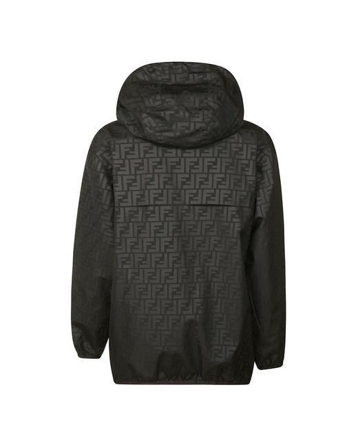 Jacket Negro Fendi de color Black
