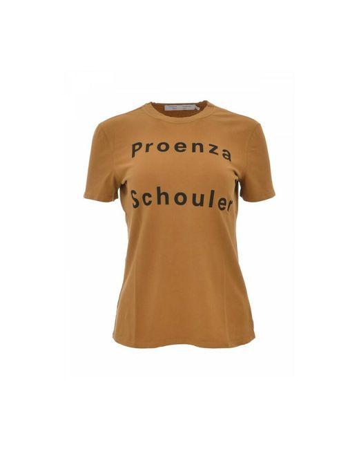 Proenza Schouler T-shirt in het Brown