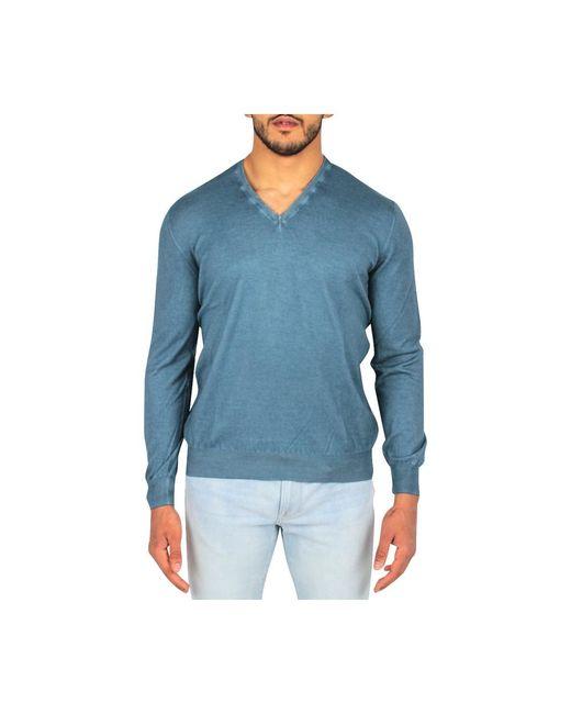 Sweater Gran Sasso pour homme en coloris Blue