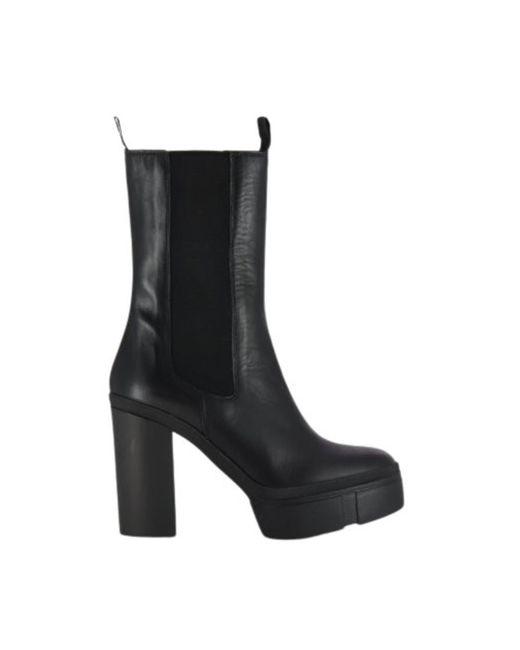 Leather boots - 1Y5124D di Vic Matié in Black da Uomo