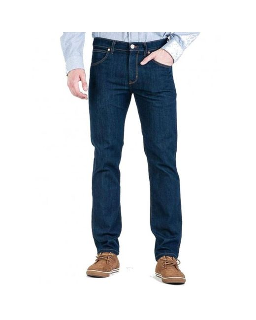 Trousers W15Q2655Z di Wrangler in Blue da Uomo