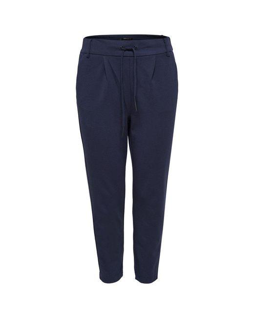 ONLY Trousers Effen in het Blue