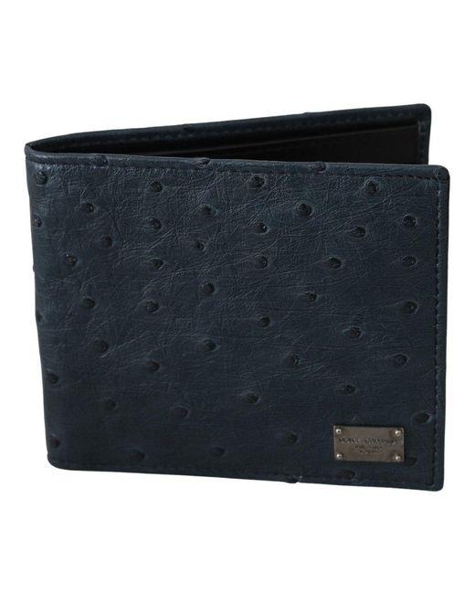 Wallet Dolce & Gabbana pour homme en coloris Blue