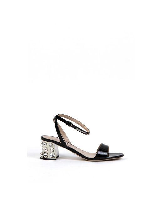 Miu Miu Sandals in het Black