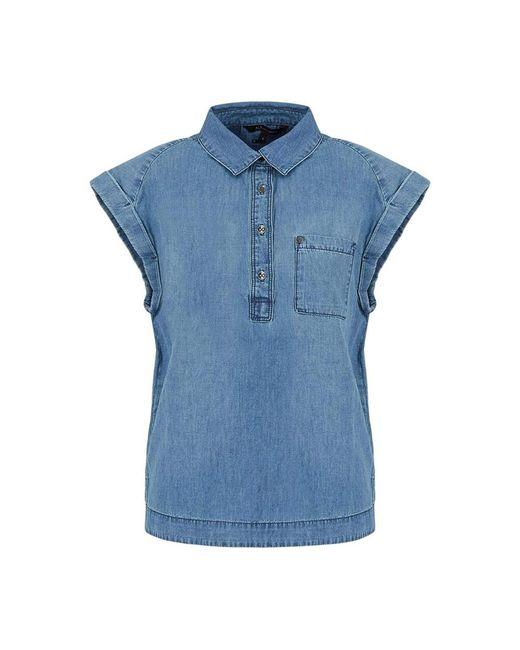Shirt di Armani Exchange in Blue