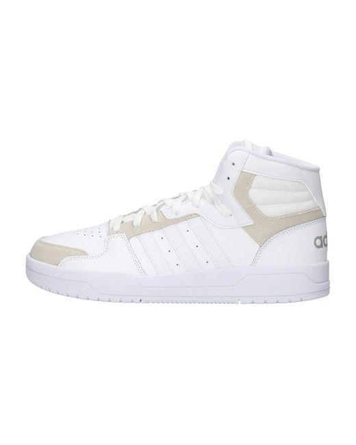 Adidas Fw3457 Hoge Sneakers in het White voor heren
