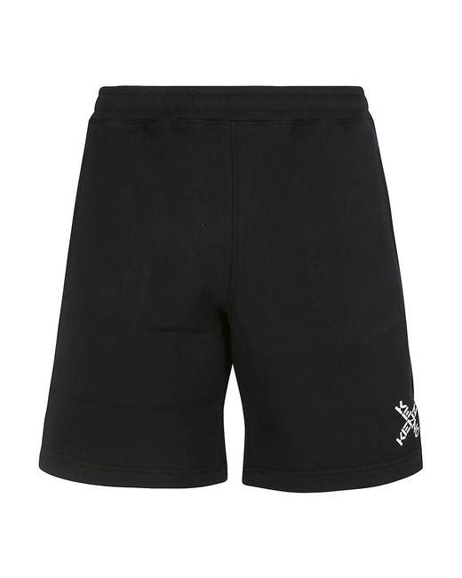 KENZO Shorts in het Black voor heren