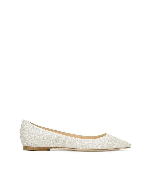 Jimmy Choo Gray Flat shoes