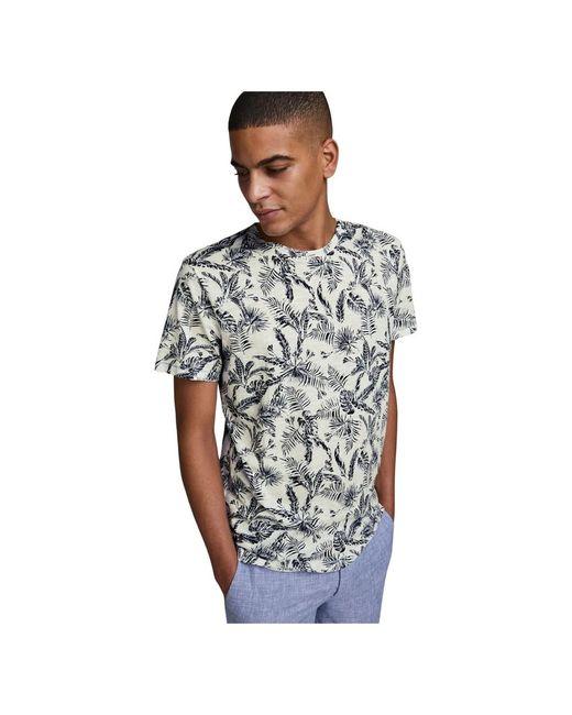 Jack & Jones 12171687 Elron T-shirt in het Natural voor heren