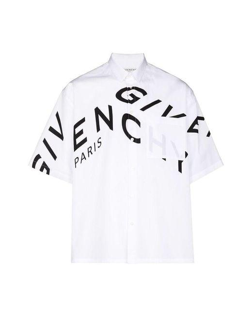 Givenchy Shirt in het White voor heren