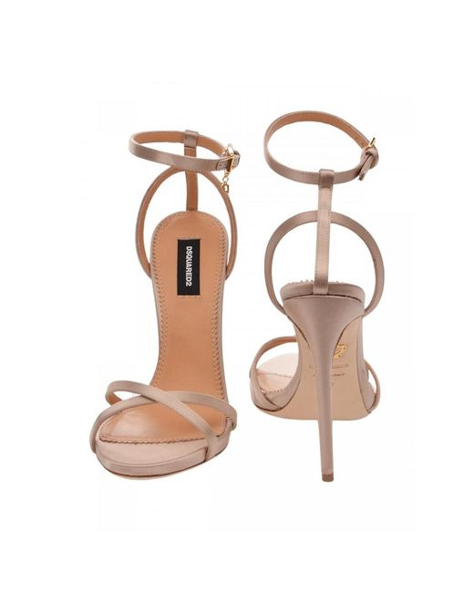 DSquared² Tacchi Sandals Hsw0164 in het Natural