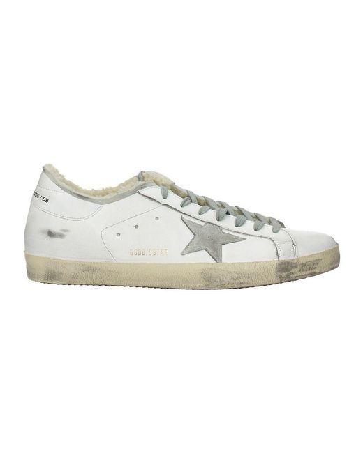Golden Goose Deluxe Brand Sneakers superstar in White für Herren