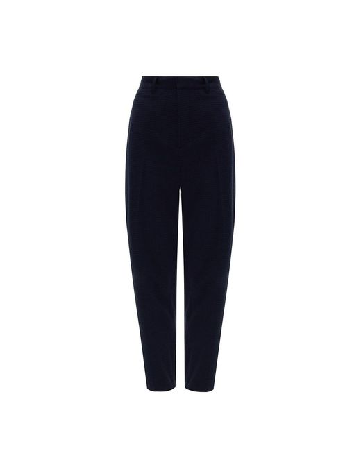 Theory Pleat-front Trousers in het Blue