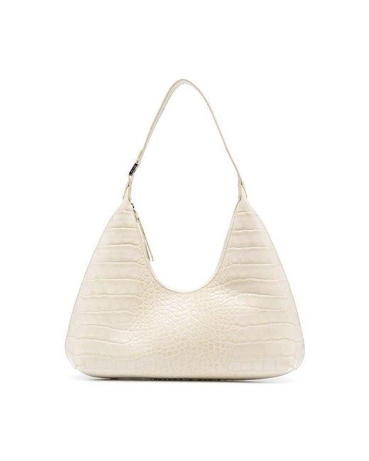 By Far Shoulder Bag in het Natural