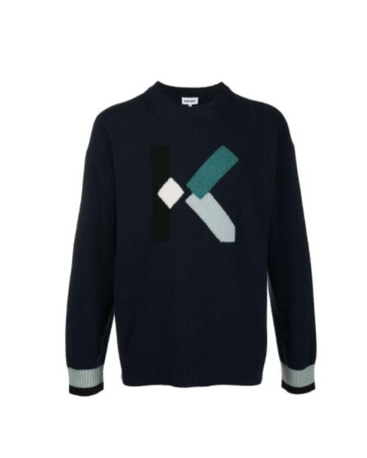 KENZO Sweater in het Blue voor heren