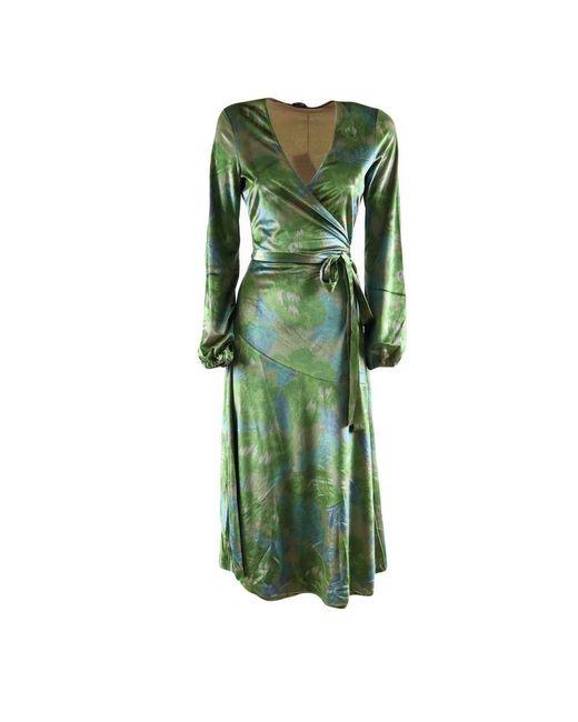Maliparmi Long Dress in het Green