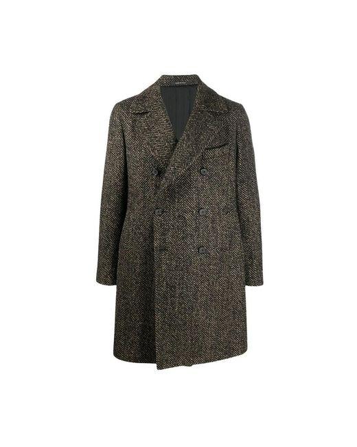 Arden coat Tagliatore pour homme en coloris Black
