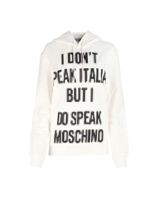 Moschino Sweatshirt in het Natural