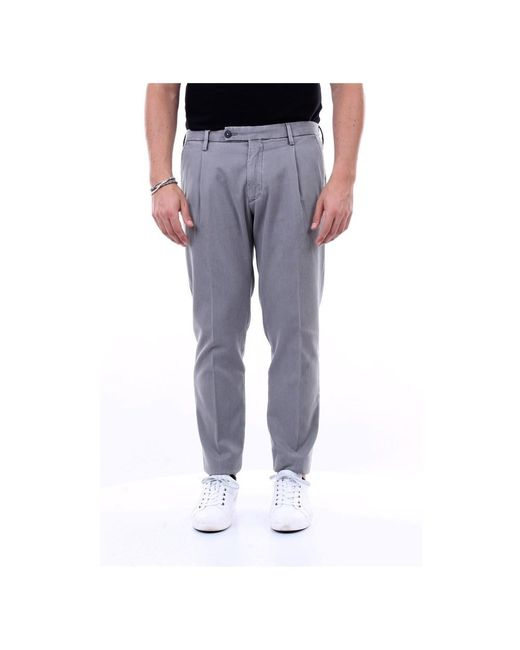 Michael Coal Trousers Frederick2620wc in het Gray voor heren