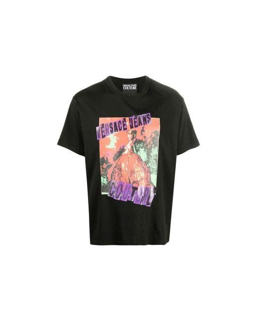 Versace Jeans Camiseta in het Black voor heren