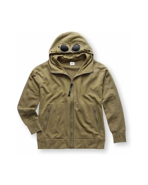 Sweatshirt Hoodie di C P Company in Green da Uomo