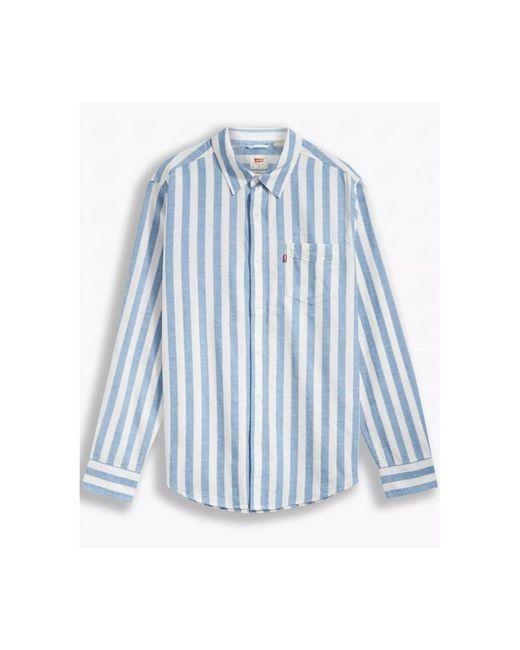 Polo manches courtes Levi's pour homme en coloris Blue