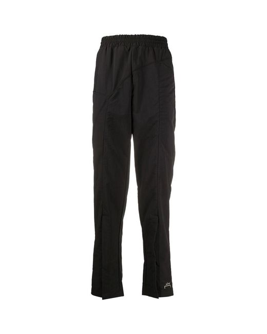 A_COLD_WALL* Curved Stitch Track Pants in het Black voor heren
