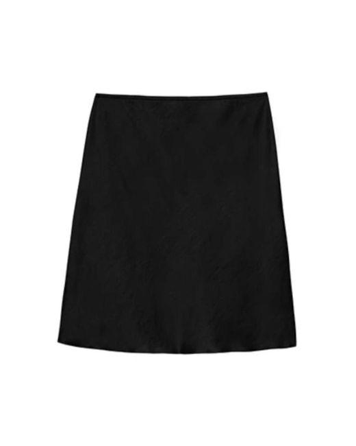 Save A-line Mini Skirt di Nanushka in Black