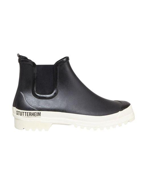 National Standard Leather Shoes - M03-20f-l90--40 in het Black voor heren