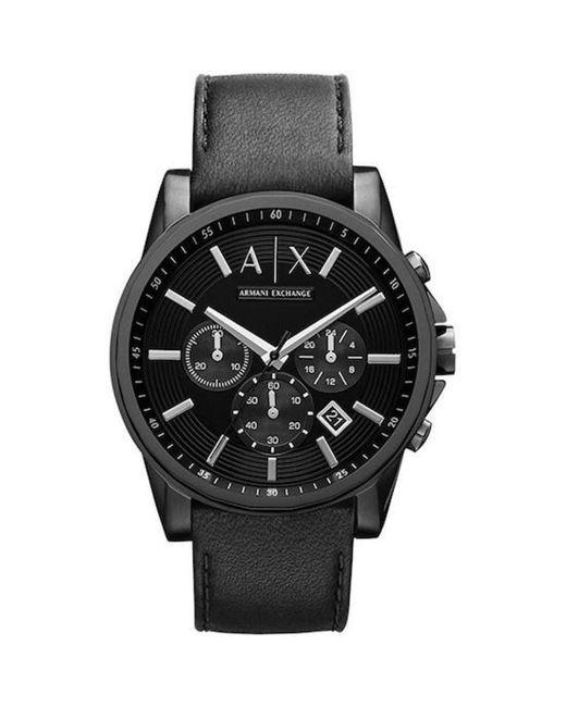 Armani Exchange Watch Ur - Ax2098 in het Black voor heren