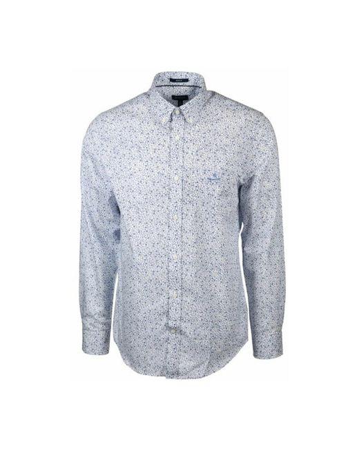 Shirt regular fit Star Burst Gant pour homme en coloris Blue