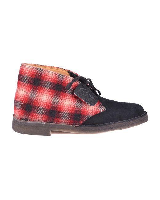 Clarks Boots in het Red