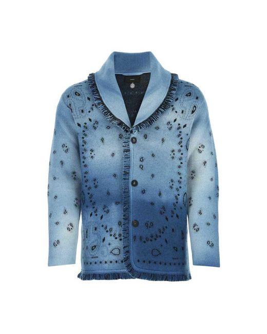 Knitwear di Alanui in Blue da Uomo