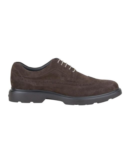 Hogan Platte Schoenen in het Brown voor heren