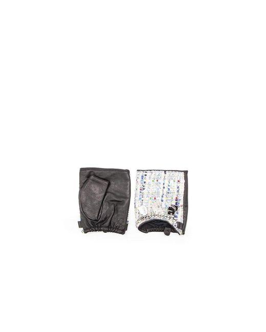 Karl Lagerfeld Gloves in het Black