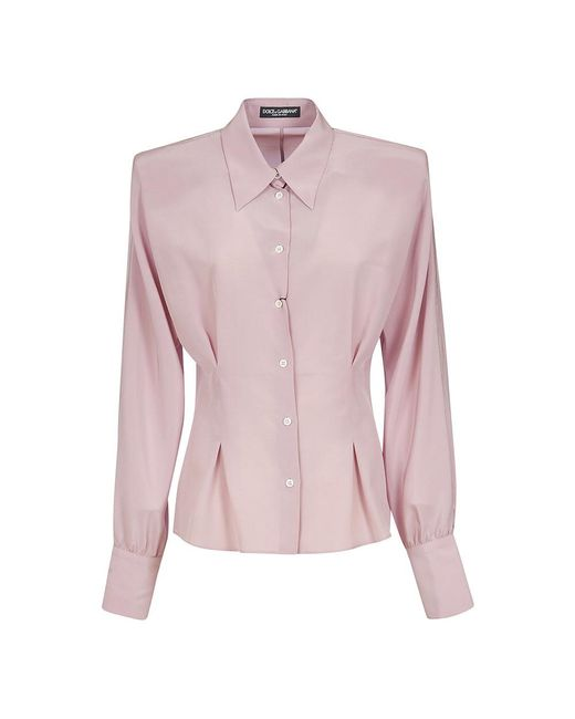 Dolce & Gabbana Shirts in het Pink