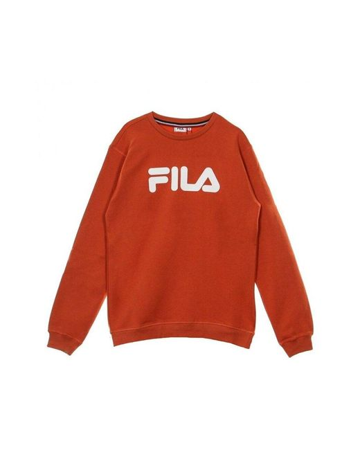 Fila Sweatshirt 681091 in het Orange voor heren