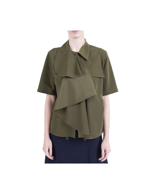Shirt di MM6 by Maison Martin Margiela in Green