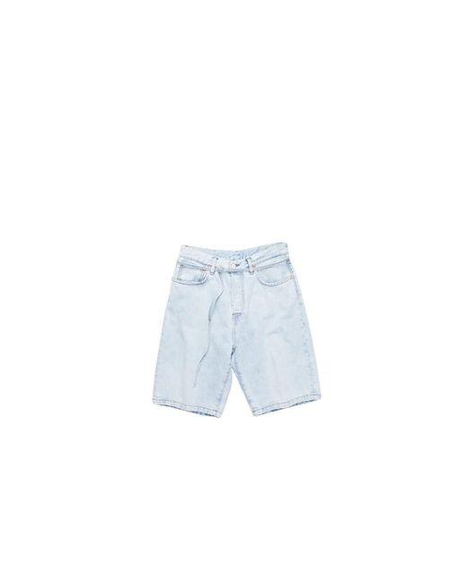 Acne Pants in het Blue voor heren