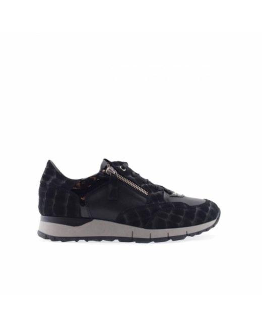 DL SPORT® 4856 Dames Sneakers Zwart in het Black